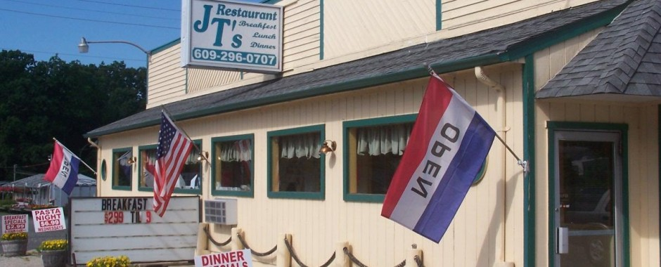 JT's Restaurant on Route 9 in Little Egg Harbor