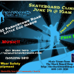 Skateboard Clinic in Little Egg Harbor NJ